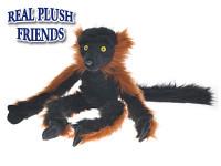 Lemur červený plyšový 40 cm