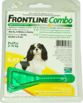 Frontline Combo spot-on dog S a.u.v. sol 1 x 0,67 ml