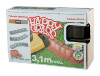palisáda HAPPY GRASS 7cmx3,1m plastová, HN (R222) (24ks)