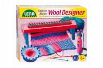 Studio pletení: Pletací stav plast+50g vlny+jehly+kolo+franc.panenka