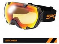 Spokey RED ROCK lyžařské brýle šedé