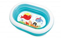 Bazén oválný nafukovací 163x107x46 cm
