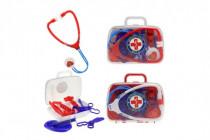 Sada doktor/lékař plast 2 barvy v plastovém kufříků