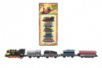 Sada lokomotiva a vagónky 5ks kov 8cm - mix variant či barev