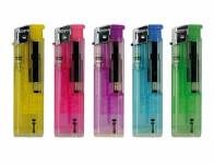 Zapalovač plynový plnitelný piezo mix barev 8cm