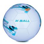 Spokey MBALL fotbalový míč bílo-modrý vel. 5