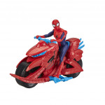 Spiderman Spiderman na motorce
