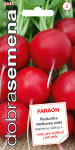 Dobrá semena Ředkvička červená - Faraon 3g
