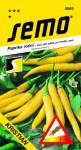 Semo Paprika zeleninová pálivá chili - Kristián žlutá na pole i k rychlení 0,4g  /SHU 55 000/