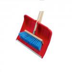 hrablo CLEAN plastové, 49x36cm + smeták chodníkový 40x170cm