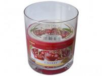 svíčka vonná sklo VIŠEŇ 135g (hoří 30hod)