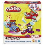 Play-Doh kelímky ve tvaru hrdinů marvel s vozidly - VÝPRODEJ