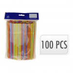 brčka s kloubem NEON 7x210mm (100ks) - mix barev