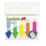 Zvýrazňující plastové záložky 45 x 12 mm, 5 barev á 25 ks