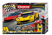 Autodráha Carrera GO!!! 62490 GT Showdown 3,6m + 2 formule