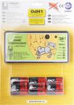 Odháněč kun, myší a potkanů ultrazvukový tichý s bateriemi - VÝPRODEJ