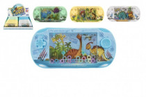 Vodní hra plast hlavolam dinosaurus 16cm - mix barev