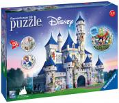 Disney zámek 3D 216 dílků