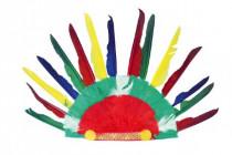 Indiánská čelenka 60x35cm v sáčku karneval