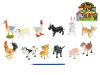 Zvířátka farma veselá 10-13 cm - mix variant či barev