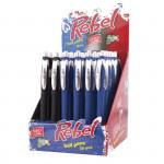 Rebel mix kuličkové pero mix (balení 36ks)