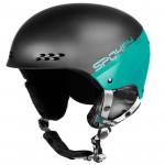 Spokey APEX lyžařská přilba černo-tyrkysová, vel. L/XL