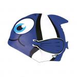 Spokey RYBKA MARLIN Dětská plavecká čepice modrá