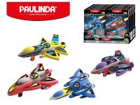Paulinda Jet Fighters raketa na zpětný chod 28 g + 14 g s doplňky - mix variant či barev
