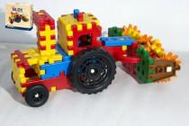 Stavebnice Blok farmář plast