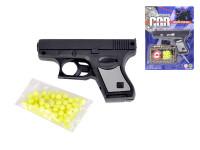 Pistole na kuličky 10 cm + kuličky