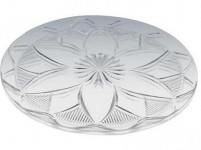 tác krystal kulatý 32cm imitace skla plastový
