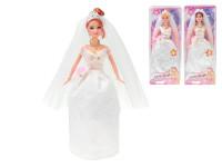 Panenka nevěsta kloubová 29 cm - mix variant či barev