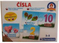 Slova nebo Čísla CZ + SK Clementoni