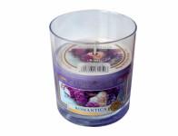 Svíčka ve skle ROMANTIKA vonná 135g