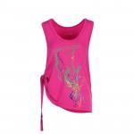 Spokey FREEDI, fitness top, růžový, vel. U