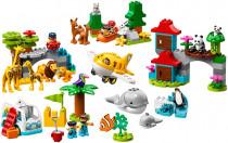 LEGO DUPLO Town 10907 Zvířátka světa