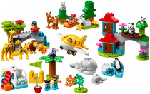 Lego Duplo 10907 Town Zvířata světa