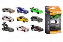 Autíčka kovová Racing 3 ks - mix variant či barev