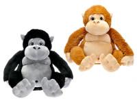 Opice plyšová 65 cm sedící - mix barev