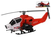 Helikoptéra hasiči 36 cm na setrvačník