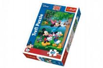 Puzzle Mickey Piknik Disney 22x33cm 60 dílků