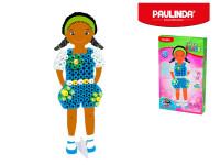 Paulinda Super Beads Jumbo 3D 10x8 mm 95 ks holčička s doplňky