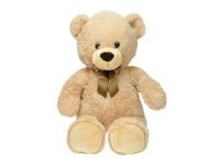 Medvěd plyšový 80 cm s mašlí