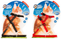 Postroj a vodítko big cat DUVO+ Diamant 30-50cm/12mm-125cm