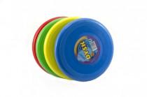 Létající talíř plast průměr 26cm - mix barev