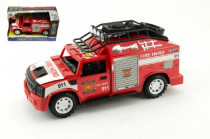 Auto hasiči plast 25cm na setrvačník na baterie se zvukem se světlem
