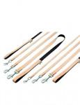 Vodítko Bamboo Balance 100/15 Béžový KAR 1ks