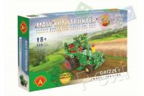 Malý konstruktér Grizzly multi traktor kov 320ks stavebnice