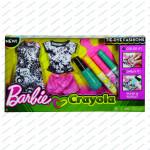 Barbie D.I.Y.crayola batikování - mix variant či barev