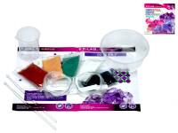 Laboratorní sada rostoucí krystaly - mix barev